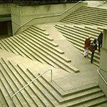 Integrated Accessibility is important to me in design.  This version by architect Arthur C. Erickson is a great inspiration for how to integrate the needs of a wider group of occupants with aesthetics.