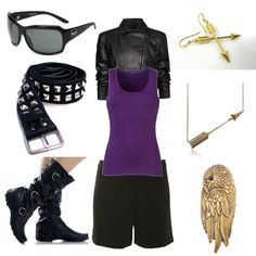 Clint Barton (Casual), created by sarahgoodfellow on Polyvore