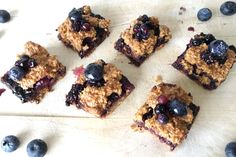 Blueberry Crumble Recept - HealthiNut