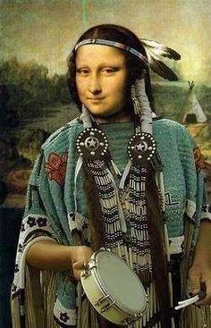 American Indian Mona