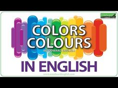 English vocabulary about the colors with examples - Vocabulario Inglés colores Learn English Grammar, English Vocabulary Words, British English, American English, Woodward English, Spanish Colors, Free English Lessons, Ell Students, Learning Spanish