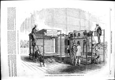 1851 Patent Vertical Printing Machine Great Exhibition