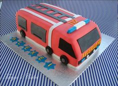 TANYA'S CAKES: Feuerwehr Torte