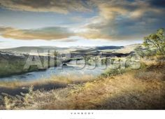 Come Away with Me by Babar760 Landscapes Art Print - 91 x 66 cm