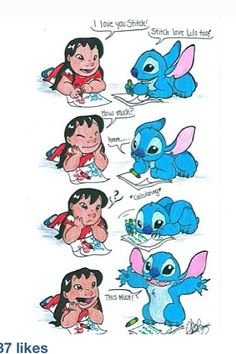 lilo and stitch- cute drawing