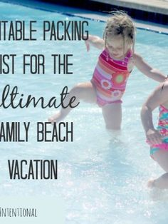 The Ultimate Beach Packing List — Make your next family trip to the beach the best one yet!