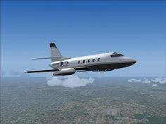FSD Announces Lockheed Jetstar ******************************* All-New Visual Model created by Jim Goldman, Flight Modeling and Dynamics by Steve Smal Pilot, Aircraft, Wings, Aviation, Airplane, Pilots, Airplanes, Planes, Ali