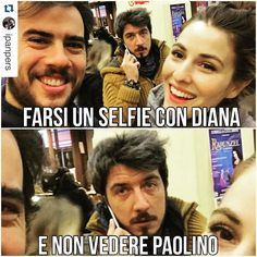 #DianaDelBufalo Diana Del Bufalo: #Repost @ipanpers with @repostapp. ・・・ Ahahahahaha meraviglia... #panpers #instaminchia #picofniente @dianadelbufalo @paolinoruffini