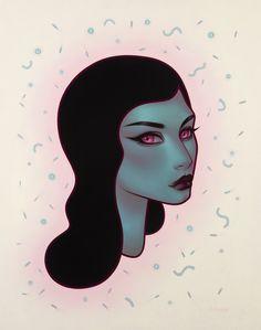 Brooklyn based artist Tara McPherson,  first... • Hi-Fructose Magazine