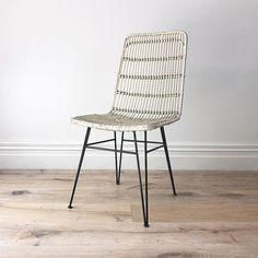 Hana Rattan Chair White - souk.co.nz $195 (sale)