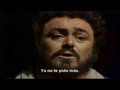 El elixir del amor, una furtiva lagrima- Luciano Pavarotti, Subtitulado al Español - YouTube