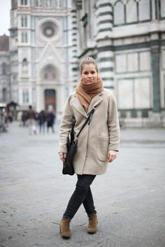 Perfect outfit for a cold day in Florence