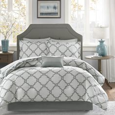 Madison Park Essentials Almaden Reversible 9-piece Bed Set - Overstock™ Shopping - Great Deals on Madison Park Comforter Sets