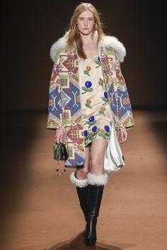 Andrew Gn - abstract 70's aztec floral