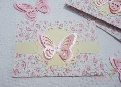 Convite feito de papel artesanal scrapbook decorado com tag 3D, alta qualidade, rico em detalhes, perfeito para sua festa jardim.  Medidas : 10 x 7 cm - fechado