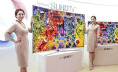 """Samsung lanza las TVs SUHD: """"Seremos número 1 en el mercado global de TVs por 10 años consecutivos"""" Samsung Smart Tv, Smart Home, Korea, Smart House"""