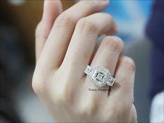 Asscher Cut Engagement Ring color G Asscher Cut Diamond Engagement Ring, Engagement Ring Cuts, Diamond Cuts, Color, Jewelry, Jewlery, Jewerly, Colour, Schmuck