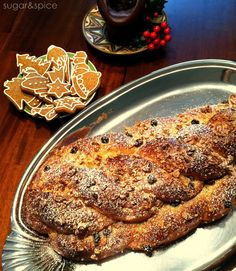 Czech Christmas bread and gingerbread cookies