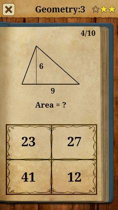 4 Math Games, Maths, Geometry