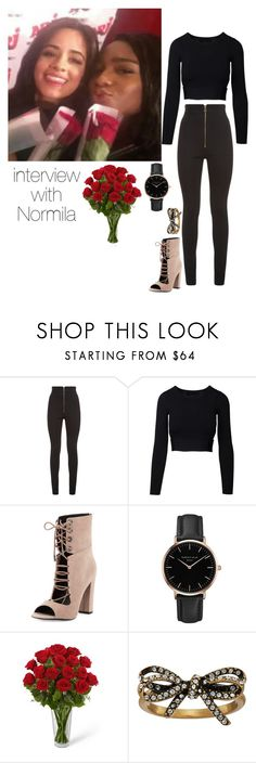 """Camila Cabello & Normani Kordei"" by leisharomano ❤ liked on Polyvore featuring Balmain, Kendall + Kylie, Topshop and Marc Jacobs"
