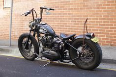 '69 Harley Rat Bobber