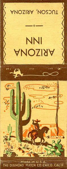 matchbook cover
