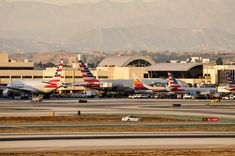 https://flic.kr/p/23GByTa | American Airlines at LAX_2016-11-19