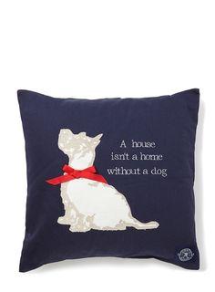 Kirstie Allsopp dog cushion