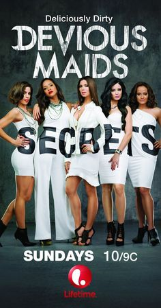 Devious Maids Created by Marc Cherry. With Ana Ortiz, Dania Ramirez, Roselyn Sanchez, Judy Reyes. Four Latina maids with ambition and dreams of their own work for the rich and famous in Beverly Hills. Movies And Series, Hd Movies, Movie Tv, Movies 2019, Devious Maids, Big Bang Theory, Judy Reyes, Ana Ortiz, Movies