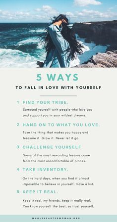 5 Ways to Fall In Love With Yourself   Personal Growth   Self-Love   Self-Care Tips   Self-Acceptance   Life Advice