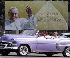 The Pope will pay an apostolic visit to Cuba between September 19-22 and will officiate mass at Havana´s Jose Marti Revolution Square on Sunday 20, at the Calixto Garcia Square in Holguin city on Monday, Sept 21 and he will finish his visit at the eastern province of Santiago de Cuba on Tues 22, 2015, where he will officiate mass at the Shrine of the Virgin of Charity of El Cobre.