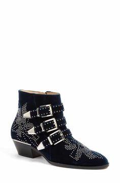 Chloé 'Susan' Studded Buckle Boot (Women)