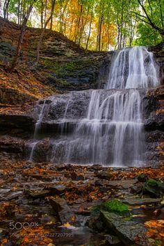 Sherman Falls by KirillM Waterfall, Explore, Pretty, Photography, Inspiration, Outdoor, Art, Biblical Inspiration, Outdoors