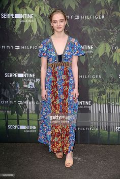 Maddi Waterhouse attends The Serpentine Summer Party Co-Hosted By Tommy Hilfiger at The Serpentine Gallery on July 6, 2016 in London, England.