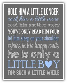 HOLD HIM a little longer sign print Canvas custom colors Boy wall art print. Boy nursery little boy print. playroom art baby shower gift - Single Mom To Boys - Ideas of Single Mom To Boys - HOLD HIM a little longer print or Canvas custom by ThePrintsCess Bebe Love, Boy Wall Art, Playroom Art, Shower Bebe, Baby Boy Nurseries, Nursery Boy, Kids And Parenting, Foster Parenting, Parenting Plan
