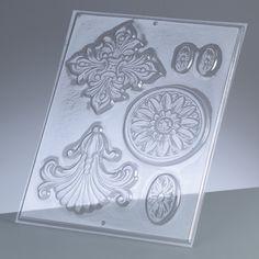 Öntőforma - ornament, 6 részes, 3-10 cm - Art-Export webáruház