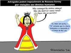 Advogados protocolam pedido de impeachment contra Roseana Sarney