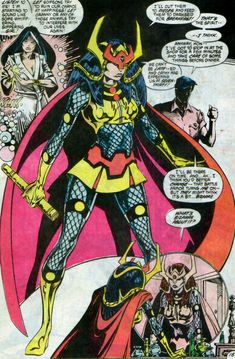 New Gods Big Barda, former Captain of Darkseid's Female Furies Special Powers Force