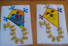 Kite craft idea for kids | Crafts and Worksheets for Preschool ...