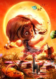 theartofanimation:  Cris Delara Cute art and digital illustrations