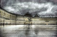 Amazing iconic of the 20 famous landmarks on earth - Hermitage in Saint Petersburg