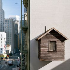 """ATELIER RUE VERTE le blog: La petite maison """"suspendue"""" à San Francisco"""