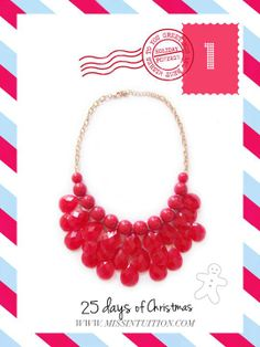http://www.missintuition.com/red-droplet-cluster-necklace/