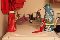 Elf on a Shelf - Laundry Day