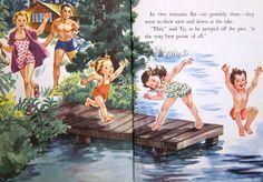 Corinne Malvern - one of my favorite Little Golden Book illustrators.