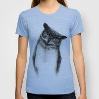 T-shirt featuring Owl Sketch by Isaiah K. Stephens