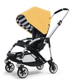 Black and yellow, black and yellow, black and yello bugaboo!! The should really make a black outer with the black and white stripes inside, that way you don't have to commit to a color, haha.