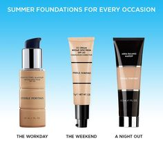 Summer Foundations: We have you covered for every occasion!