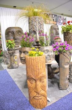 I would love one of these planter heads sitting in my natural garden #gardenchat #containergardening pic.twitter.com/qYL1ThH6CN