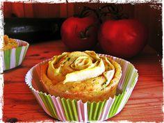 Zucchini-Tomaten-Muffins